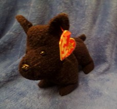 Ty Beanie Baby Scottie 4th Generation Hang Tag Creased Tag - $7.91