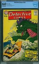 Detective #252 (DC, 1958) CBCS 6.0 - $167.31