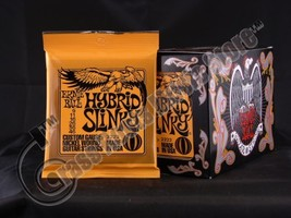 Bulk 12 Sets, Ernie Ball, Electric Guitar Strings, Hybrid Slinky Gauge 9-46 - $64.39