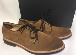 UGG Australia Men's Jovin Brown Chestnut Leather Oxfords Lace Up Shoes 1018685 - $79.99
