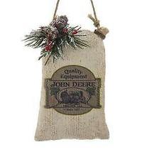John Deere™ Seed Sack Ornament w - $16.99