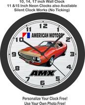 1972 American Motors AMX Javelin Wall Clock-Free US Ship-AMC - $30.68+