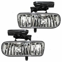 Fits 99-02 Chevy Silverado; 00-06 Tahoe (Exc Z71) Left & Right Fog Lamps... - $54.40