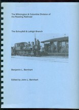Reading Railroad - SCHUYLKILL & LEHIGH BRANCH  - SIGNED - $29.65