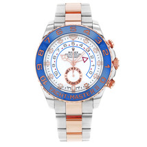 Rolex Yacht-Master II 116681 2017 New Hands Steel 18K Pink Gold Automatic Watch - $20,000.00