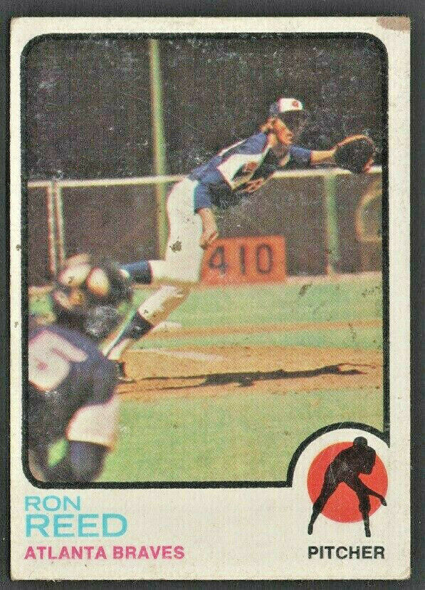 Primary image for Atlanta Braves Ron Reed 1973 Topps Baseball Card #72