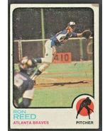 Atlanta Braves Ron Reed 1973 Topps Baseball Card #72 - $0.50