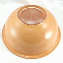Pyrex 325 Clear Bottom Bowl Beige & Tan Vintage 2½ qt Serving Made in the USA image 4