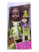 """Disney Princess Tea Time with 14"""" Toddler Tiana and Naveen 11-Piece Play... - $49.95"""