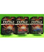 Lot Of 3 Wham O Rad Racers Speed Series NEW IN PACKAGING Collectible Gift - $12.02