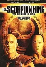 DVD - The Scorpion King Warrior Pack 2-DVD  - $17.94