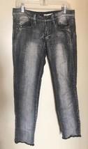 Forever 21 2.1 Denim Black/Gray Distressed Studded Skinny Jeans Women's ... - $14.50