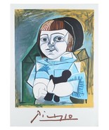 """Paloma un Bleu"" by Pablo Picasso Lithograph Limited Edition of 1000 w/ CoA - $244.27"