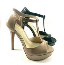 Jessica Simpson Bansi Patent High Heel Platform T- Strap Sandal Choose S... - $89.00