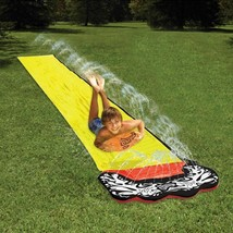 15 ft Large Giant Huge Slide A Way Water Slider Fun Lawn Water Surf Slid... - $47.47