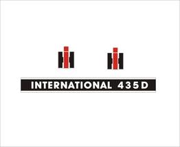 INTERNATIONAL 435 D - Combine Harvester decal set, reproduction - $36.00