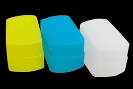 3 Soft Squeezable Flash Diffusers For Nikon Speedlite SB800 UK Seller - $12.50