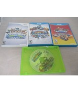 Lot Of 4 Skylanders Nintendo Wii U Games SWAP FORCE GIANTS  SUPERCHARGERS - $23.99