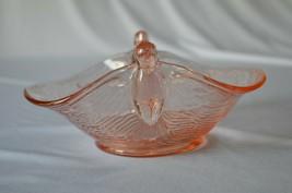 Dugan/Diamond Glass Company Seagull Pink Bowl 1920's-1931 - $34.65