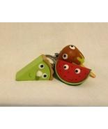 Kidrobot Yummy World Keychain Lot Watermelon Caramel Apple Key lime Pie - $24.73