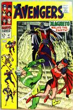 AVENGERS# 47 Dec 1967 1st Dane Whitman Black Knight Magneto KEY: 9.0 VF-NM - $550.00