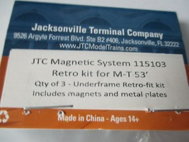 Jacksonville Terminal Company # 115103 JTC Retro Kit For 53' Micro-Trains 3/PK N image 2