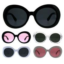 Minimal Mod Womens Round Plastic Retro Sunglasses - £7.13 GBP
