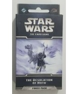 Star Wars The Card Game The Desolation of Hoth Force Pack LCG - $12.19
