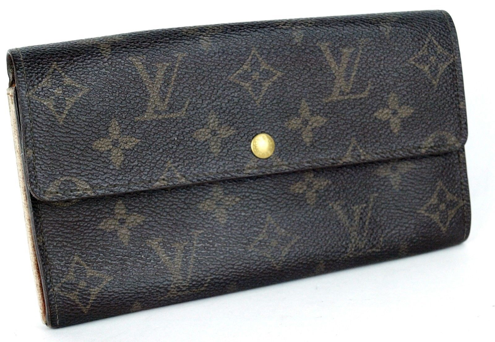 0940be8df6f9 Auth LOUIS VUITTON monogram Canvas leather and 50 similar items. 57