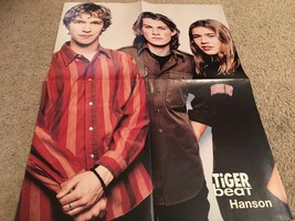 Backstreet Boys Hanson teen magazine poster clipping tattoos red shirt Bop