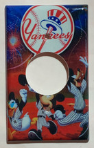 NY Yankees Mickey Donald Duck Light Switch Outlet Wall Cover Plate home decor image 5