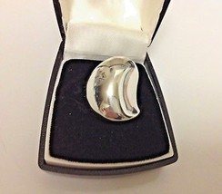 Robert Lee Morris Vintage Signed Sterling Silver (925) Sculptural Ring (... - £165.17 GBP