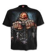 "Five Finger Death Punch Game Over - Mens T-Shirt (XL 46-48"" Chest) Black - $35.63"