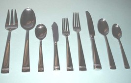 Vera Wang Wedgwood WITH LOVE 44 Piece Stainless Flatware Service for 8 NEW - $298.90