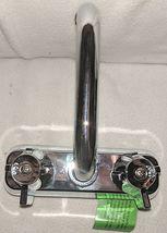 Homewerks Worldwide 16U42WNCHB Chrome Two Handle Laundry Tray Faucet image 3