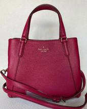 New Kate Spade NY Jackson Medium Triple compartment Satchel Leather Cran... - $158.11 CAD