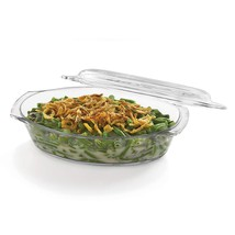 Libbey Baker's Basics Glass Oval Casserole with Cover - $25.17