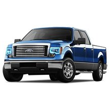 FLASHTECH for Ford F-150 09-14 Blue Single Color LED Halo Ring Headlight and Fog - $282.24