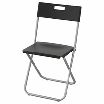 IKEA GUNDE Folding Chair, Black (Great for Parties), 002.177.97 - NEW  - $41.57