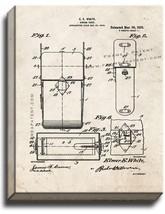Kodak Camera Case Patent Print Old Look on Canvas - $39.95+