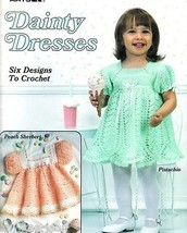 Dainty Dresses to crochet frilly patterns for baby, girls 12-18 months L... - $33.03