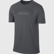 Nike Men's Aj Six Rings Joy Of 6 Tee New Authentic Dark Grey 844302-021 - $29.99
