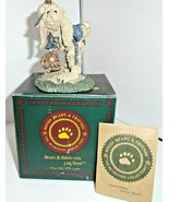 Boyds Bears & Friends* LEFTY...ON THE MOUND, #2253, MINT CONDITION - $6.19
