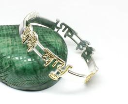 Custom name bangle Sterling Silver BEBE BAPU punjabi kada for men women   - $80.75+