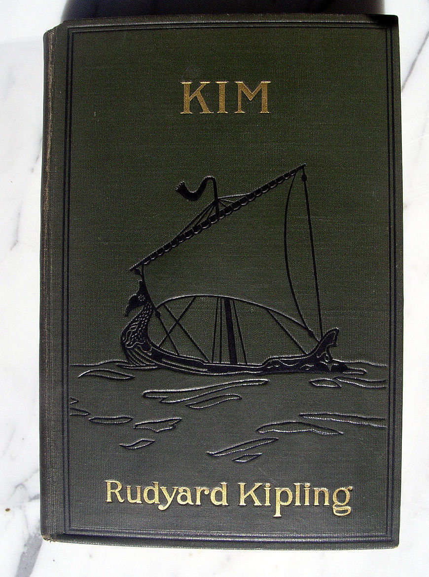 Rudyard Kipling KIM first Amercan edition, first issue Nice copy! Pre UK edition