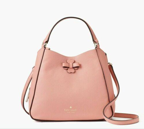 Kate Spade Talia Small Triple Compartment Leather Crossbody ~ Peachy Rose Bag image 2