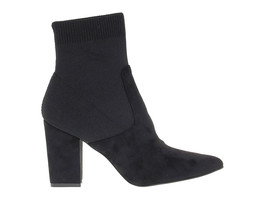 Ankle boot STEVE MADDEN RENNE in black suede leather - Women's Shoes - €118,17 EUR