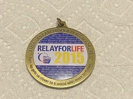 2015 Relay for Life Marathon Medal - $20.00