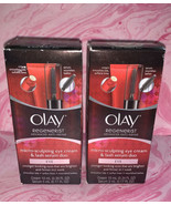 2 Olay Regenerist Micro Sculpting Eye Cream and Lash Serum Duo - $24.74