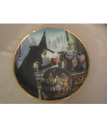 THE WITCH CASTS A SPELL collector plate WIZARD OF OZ 50th Anniversary BL... - €29,33 EUR